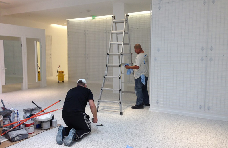 Construction cleaning service